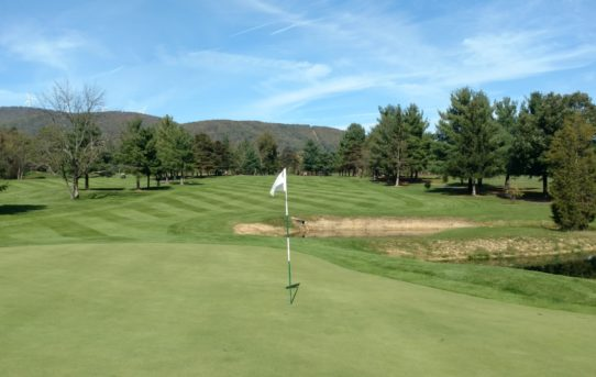 Polish Pines Golf Course (Keyser, WV on 10/21/17)