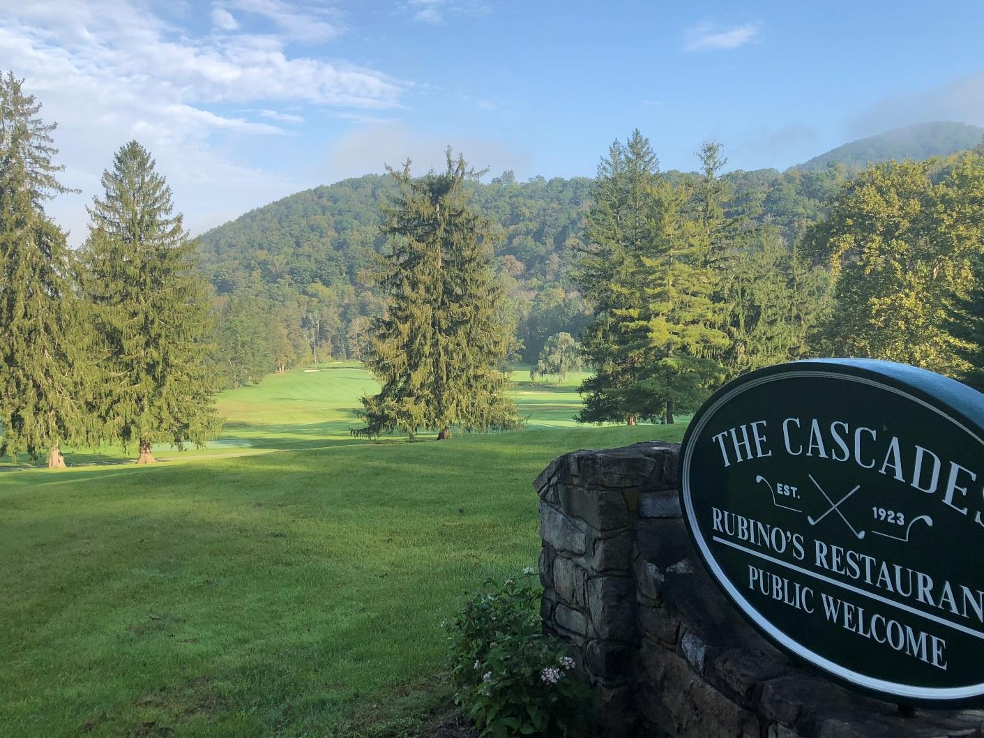 the cascades at omni homestead resort (hot springs, va on 10/06/18
